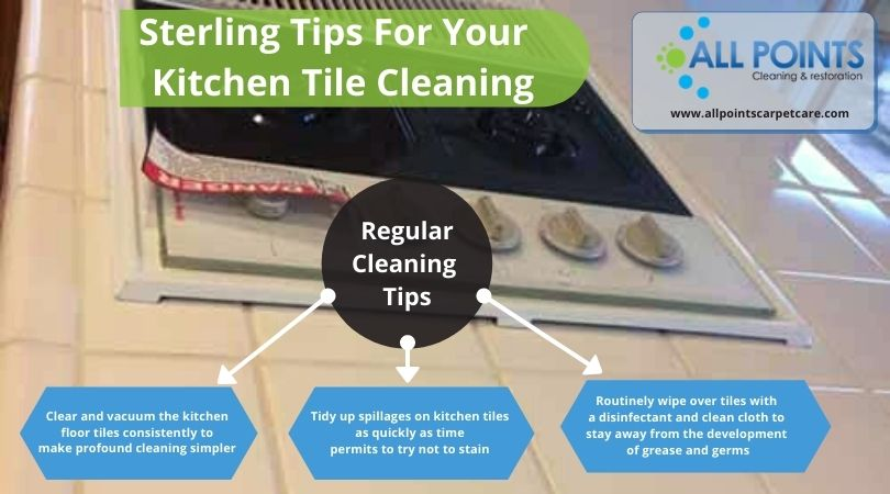 Tips For Your Kitchen Tile Cleaning